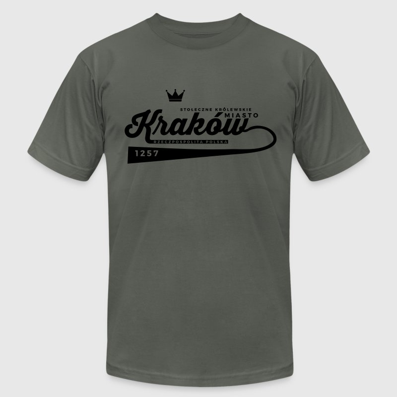 Kraków T-Shirts - Men's T-Shirt by American Apparel