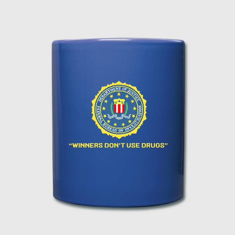 Winners Don't Use Drugs - Full Color Mug