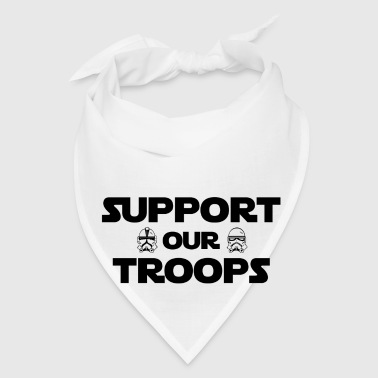 Support Our Troops Storm Troppers - Bandana