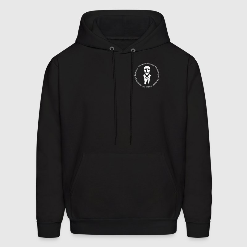 Anonymous seal  Hoodies - Men's Hoodie