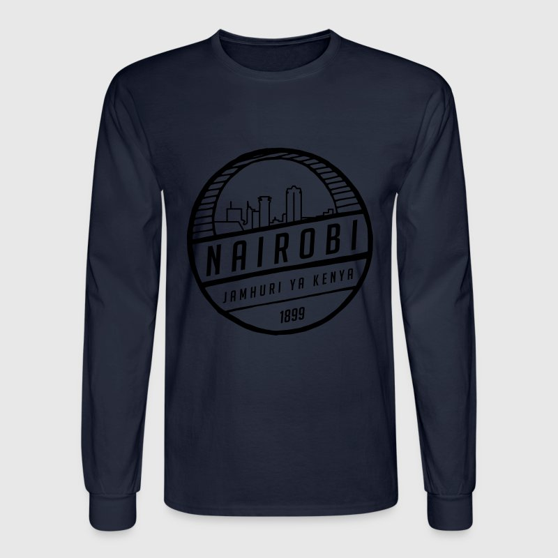 Nairobi Long Sleeve Shirts - Men's Long Sleeve T-Shirt