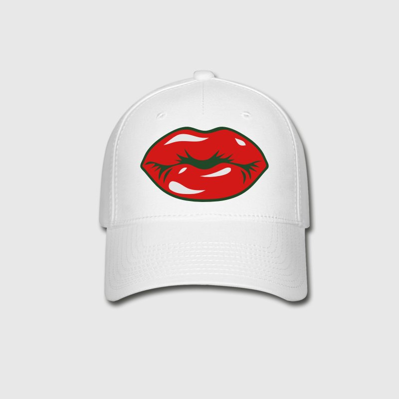 SEXY RED LIPS - KISS Caps - Baseball Cap