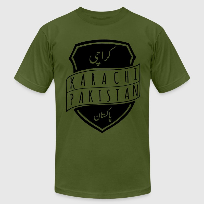 Karachi T-Shirts - Men's T-Shirt by American Apparel