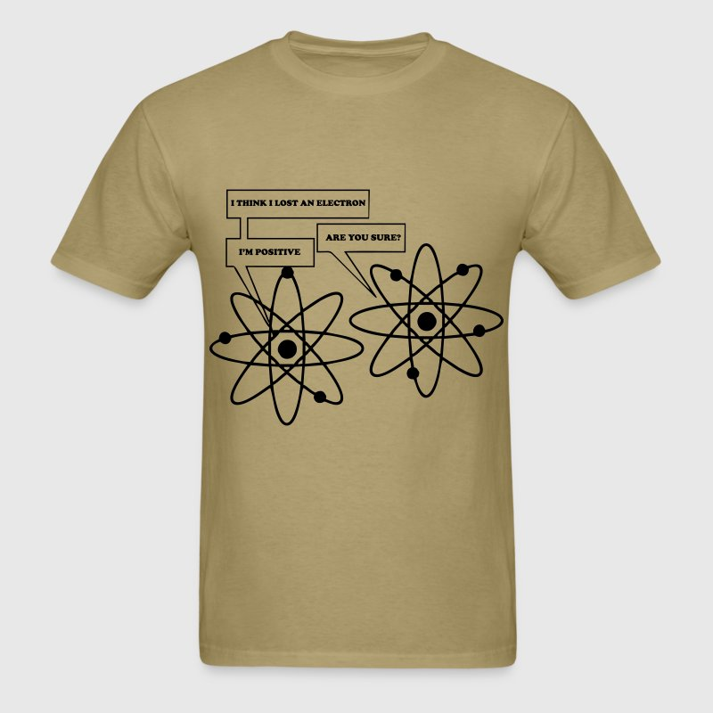 I lost and electron - Men's T-Shirt