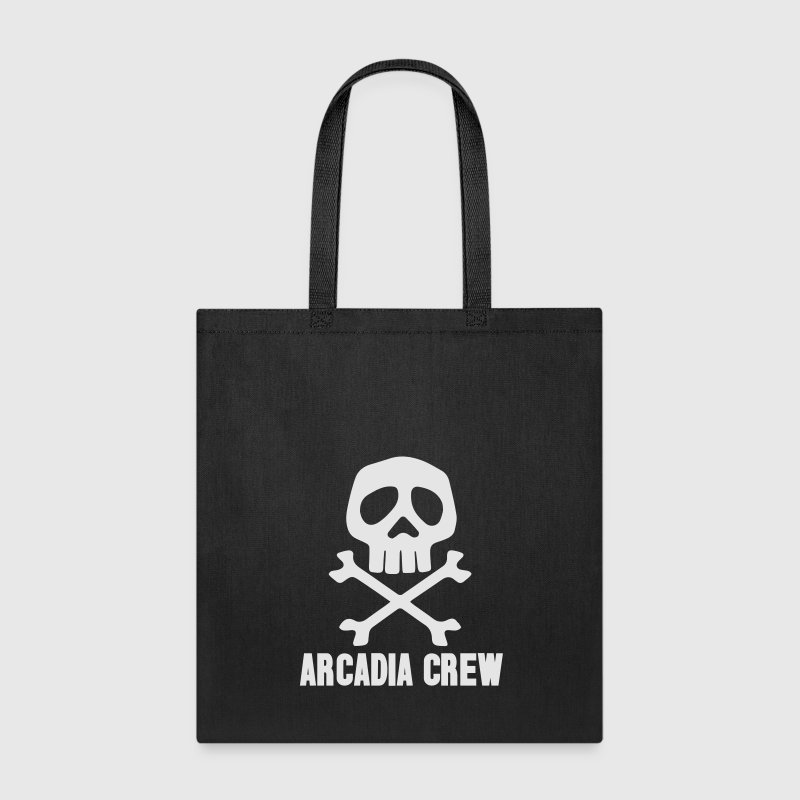 Captain Harlock Arcadia Pirate Skull - Tote Bag