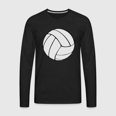 Volleyball T-Shirts - Men's Premium Long Sleeve T-Shirt