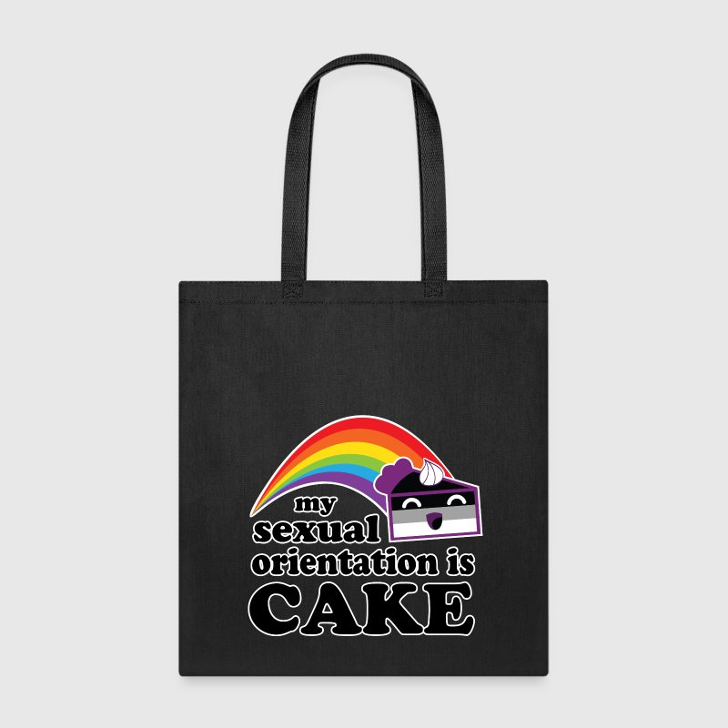 My Sexual Orientation Is Cake Funny LGBT Pride Bags & backpacks - Tote Bag