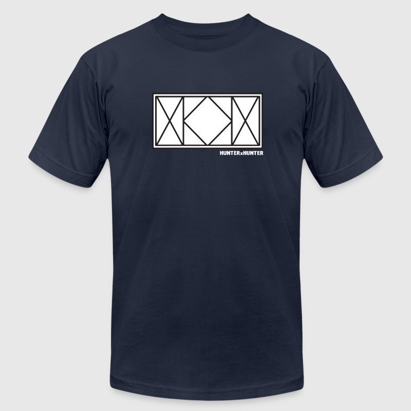 Hunter x Hunter Killua Logo - Men's T-Shirt by American Apparel