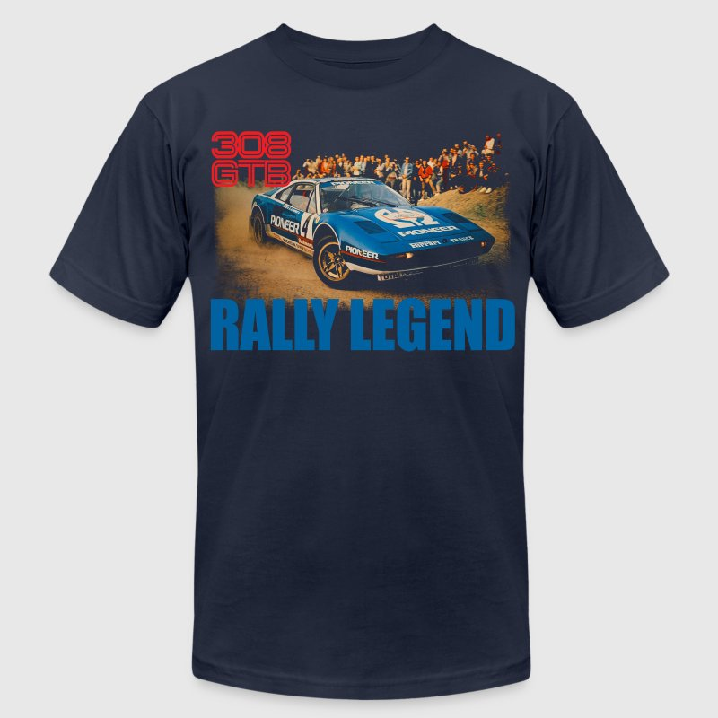 rally legend T-Shirts - Men's T-Shirt by American Apparel