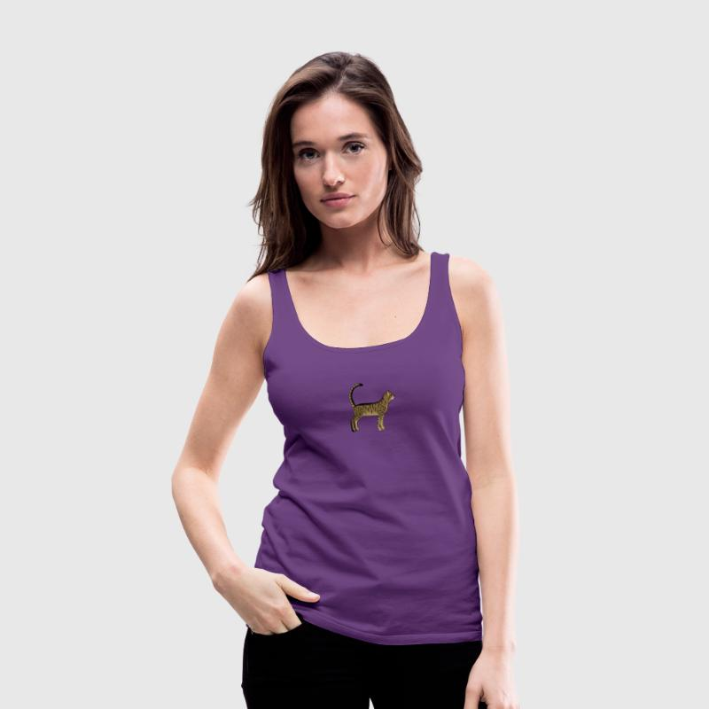 tabby cat Tanks - Women's Premium Tank Top