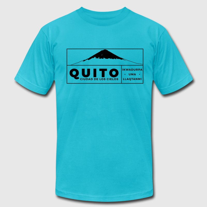 Quito T-Shirts - Men's Fine Jersey T-Shirt