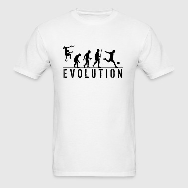 Funny Soccer Evolution Hoodie - Men's T-Shirt