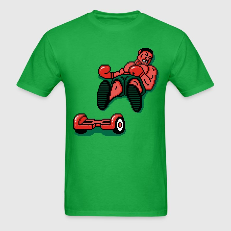 Mike Tyson falls off Hoverboard Shirt - Men's T-Shirt