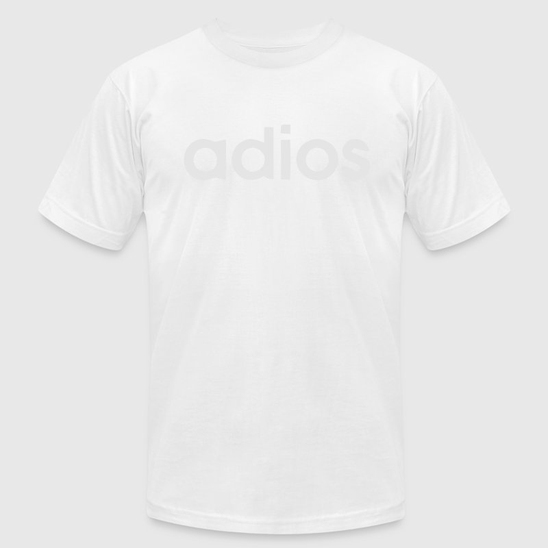 ADIOS T-Shirts - Men's T-Shirt by American Apparel