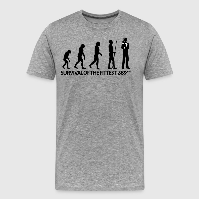 James Bond Evolution T-Shirts - Men's Premium T-Shirt