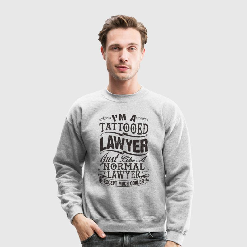 TATTOOED LAWYER SWEATSHIRT - Crewneck Sweatshirt
