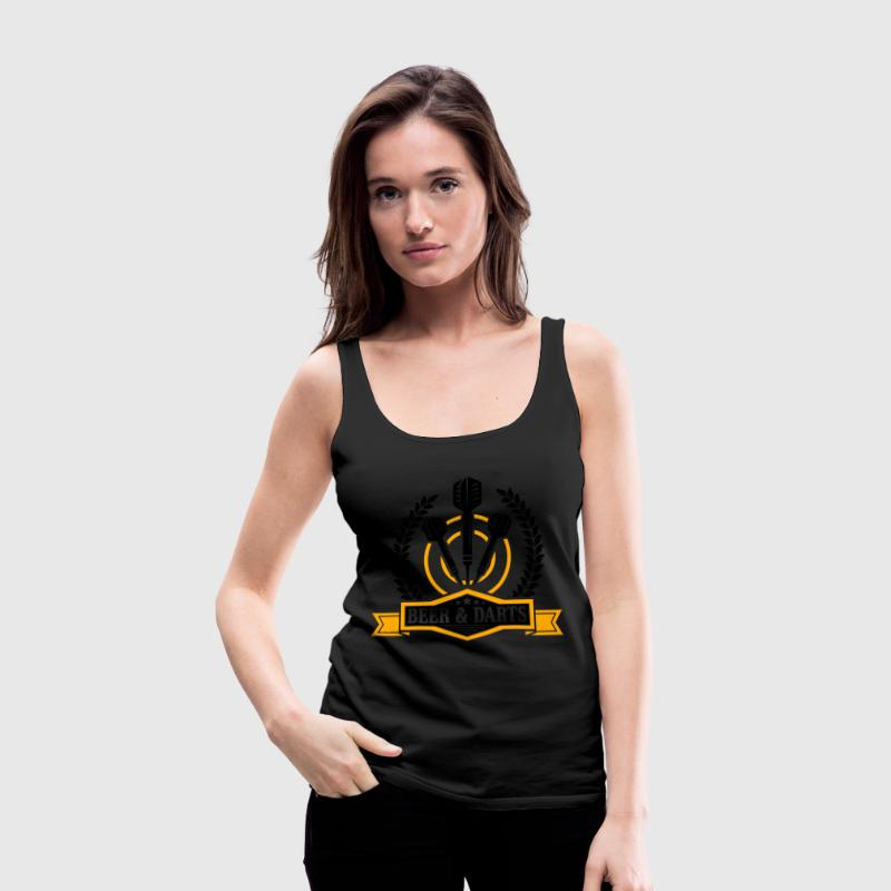 Beer and darts Tanks - Women's Premium Tank Top