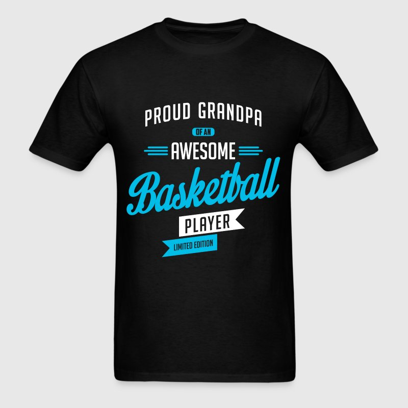 Grandpa Awesome Basketball b T-Shirts - Men's T-Shirt