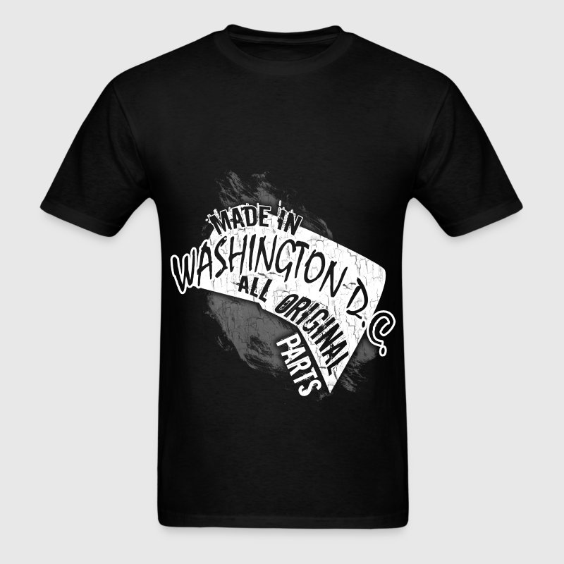 Washington D.c.T-shirt - Made In Washington D.c.  - Men's T-Shirt