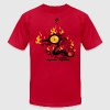 Backfire - Men's T-Shirt by American Apparel