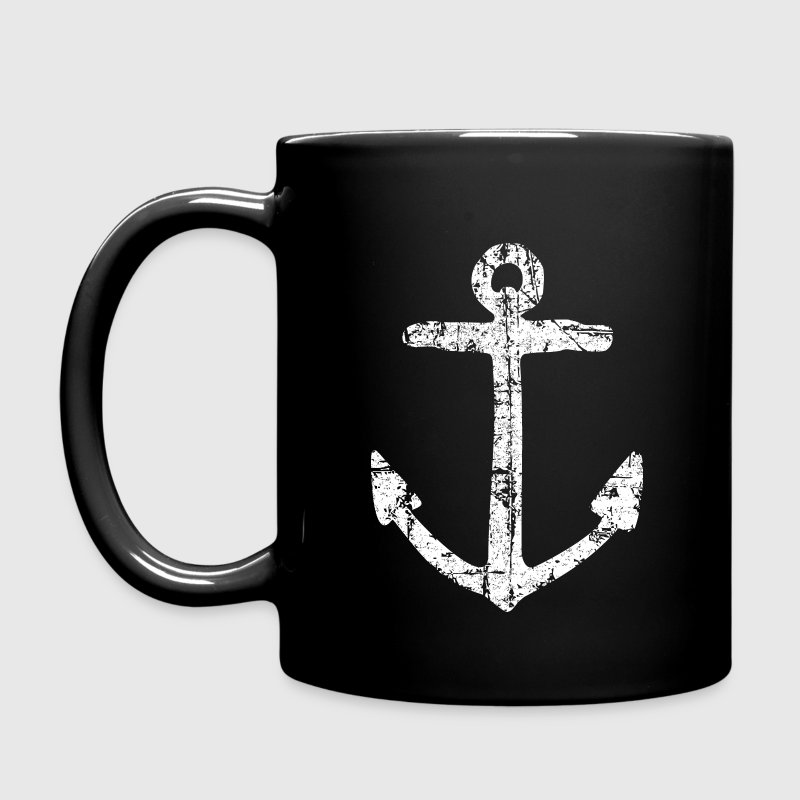 Anchor Vintage White Sailing Sailor Design Mugs & Drinkware - Full Color Mug
