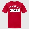MADE IN 1948 ALL ORIGINAL PARTS T-Shirts - Men's Fine Jersey T-Shirt