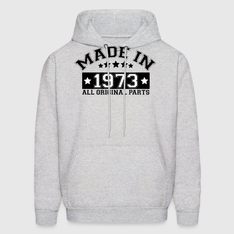 MADE IN 1973 ALL ORIGINAL PARTS Hoodies - Men's Hoodie