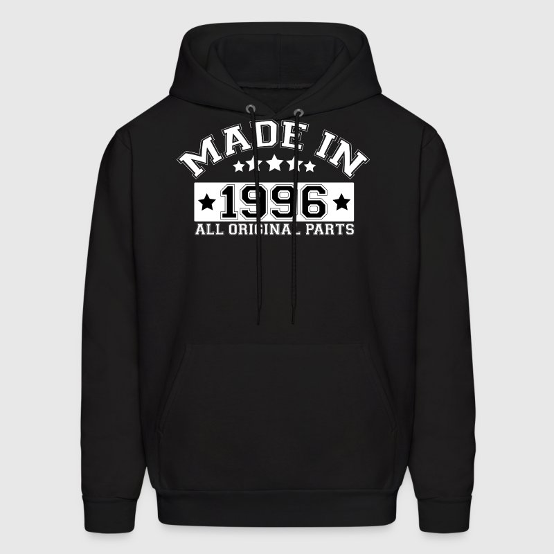 MADE IN 1996 ALL ORIGINAL PARTS Hoodies - Men's Hoodie