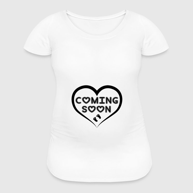 Baby Coming Soon! Women's T-Shirts - Women's Maternity T-Shirt