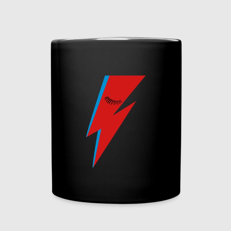 Lightning Bolt and Eyelashes Mugs & Drinkware - Full Color Mug