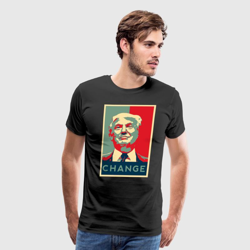 Trump Change T-Shirts - Men's Premium T-Shirt
