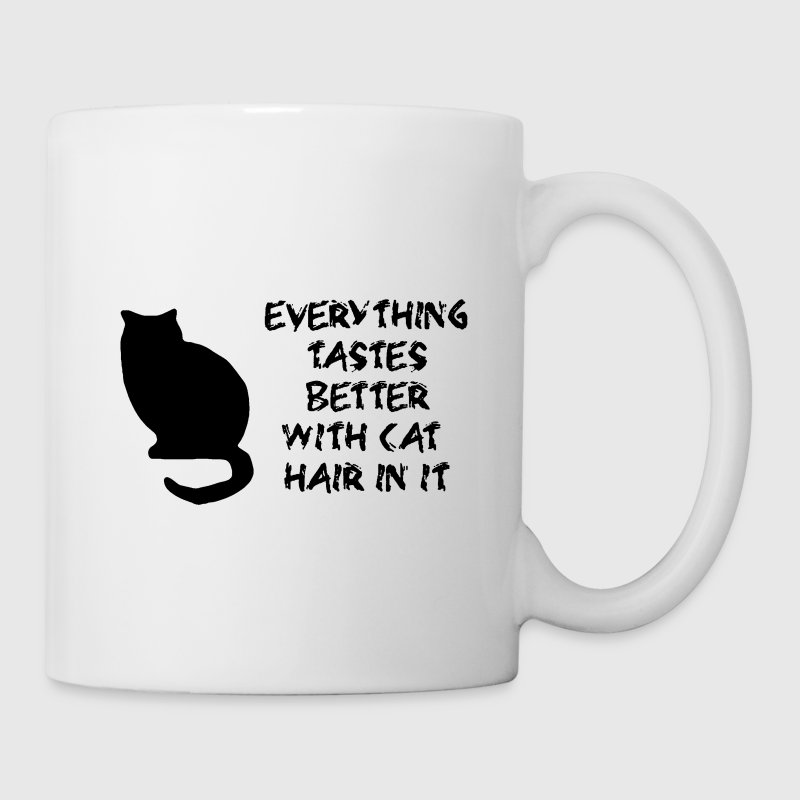 Everything Tastes Better With Cat Hair in it Mug - Coffee/Tea Mug