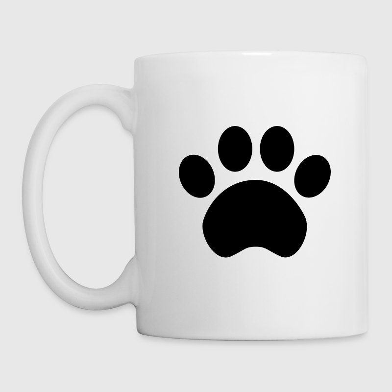 Paw Print Coffee Mug - Coffee/Tea Mug