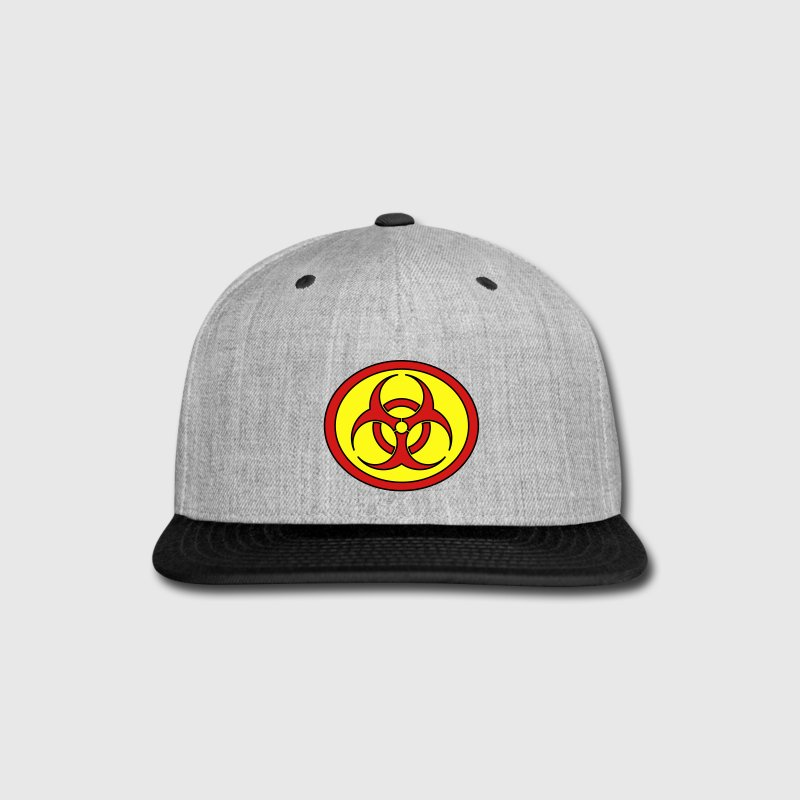 Super, Hero, Heroine, Superhero, Biohazard Caps - Snap-back Baseball Cap