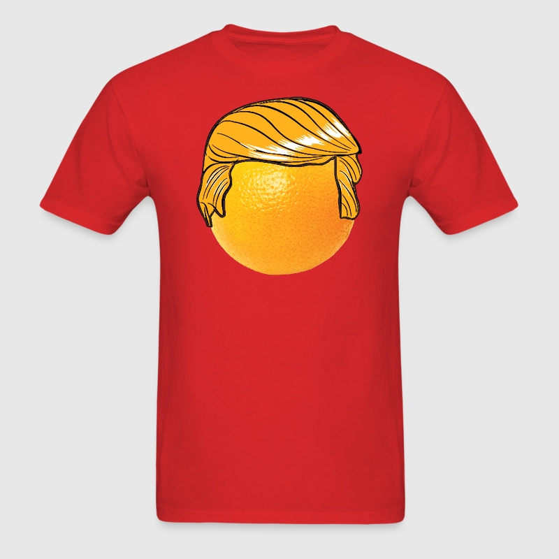 Funny Orange Donald Trump 2016 Hair T-Shirts - Men's T-Shirt