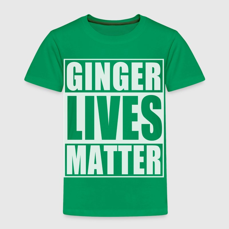 Ginger Lives Matter Baby & Toddler Shirts - Toddler Premium T-Shirt