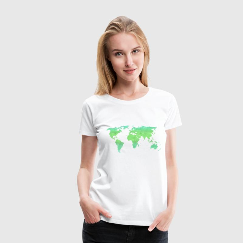 Green World Women's T-Shirts - Women's Premium T-Shirt