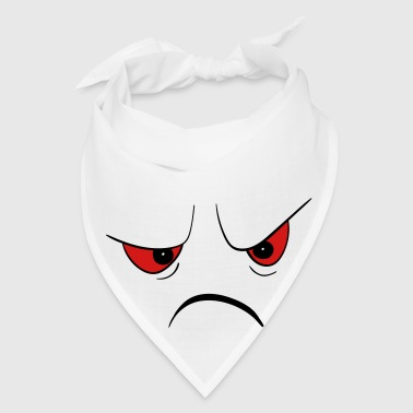 Angry Face Mugs & Drinkware - Bandana