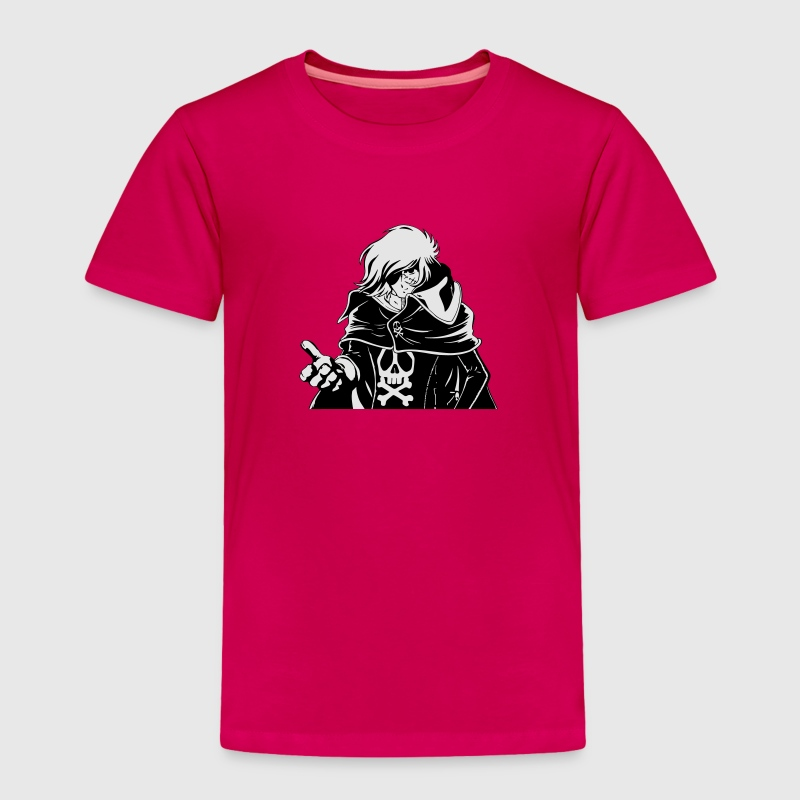 Captain Harlock - Toddler Premium T-Shirt