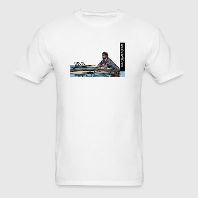 Checking the Waves Sportswear - Men's T-Shirt