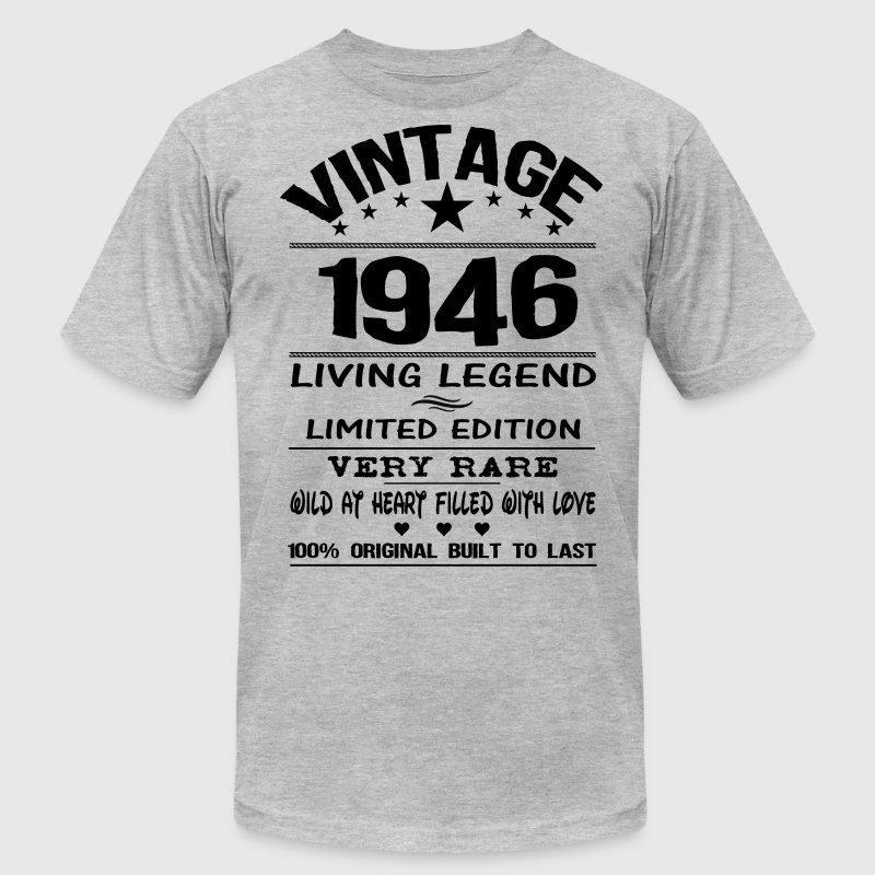 VINTAGE 1946 T-Shirts - Men's T-Shirt by American Apparel