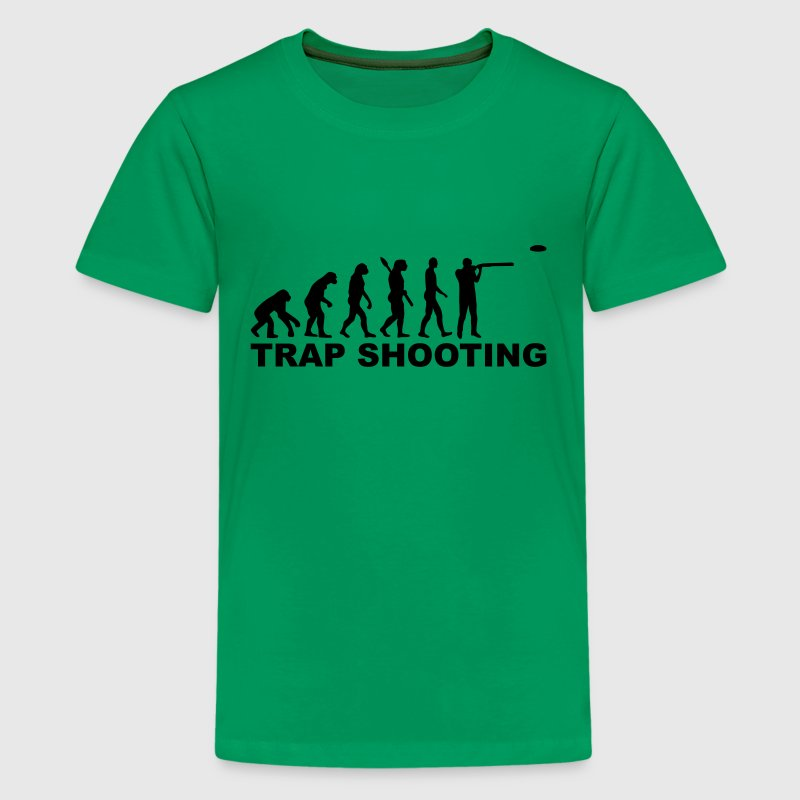 Evolution trap shooting Kids' Shirts - Kids' Premium T-Shirt