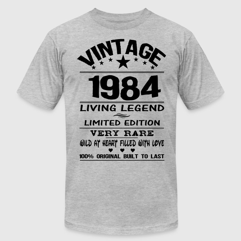 VINTAGE 1984 T-Shirts - Men's T-Shirt by American Apparel