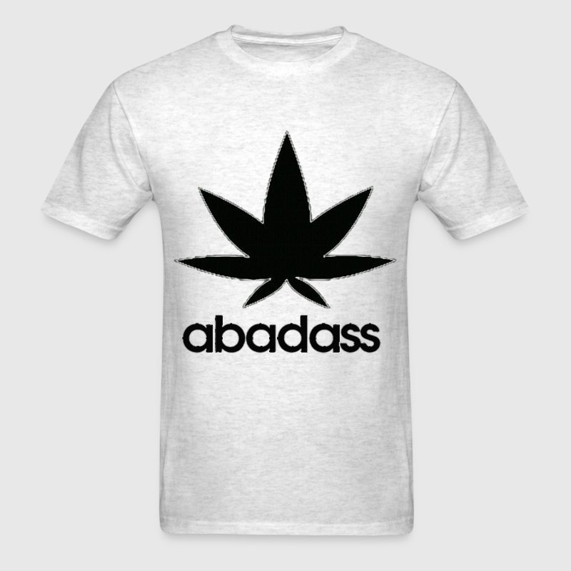 a bad ass weed logo T-Shirts - Men's T-Shirt