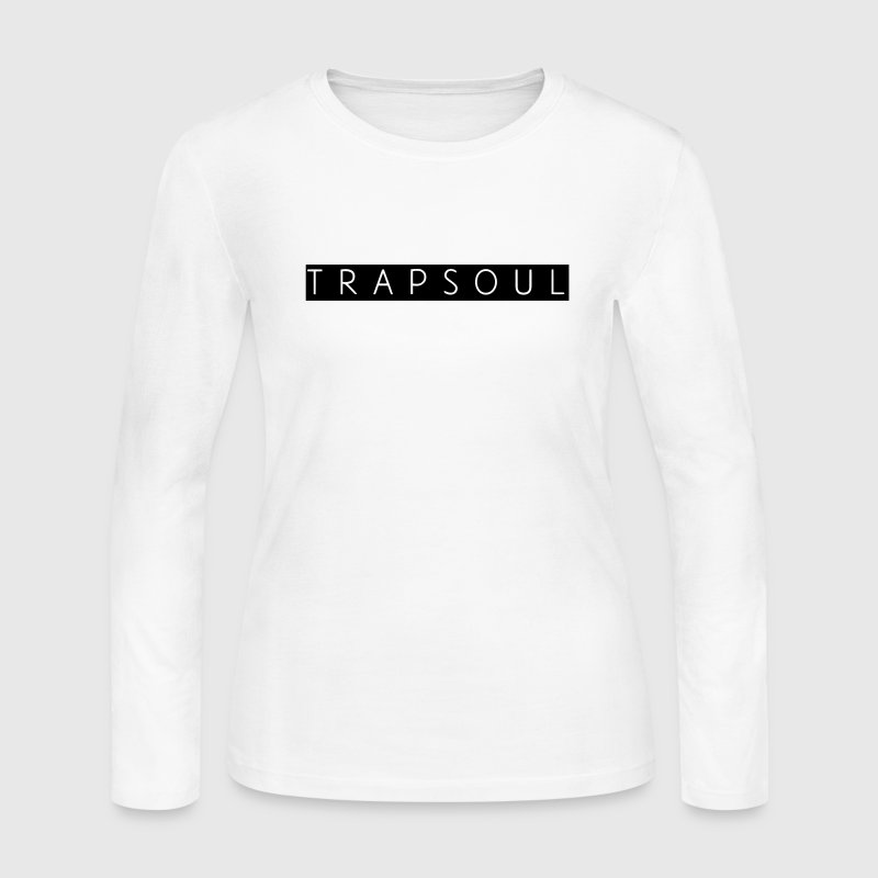 TRAPSOUL Long Sleeve Shirts - Women's Long Sleeve Jersey T-Shirt