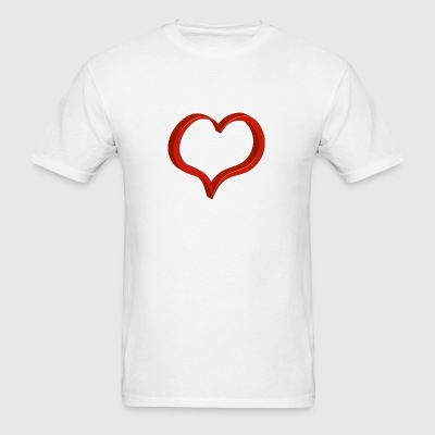 red heart Phone & Tablet Cases - Men's T-Shirt