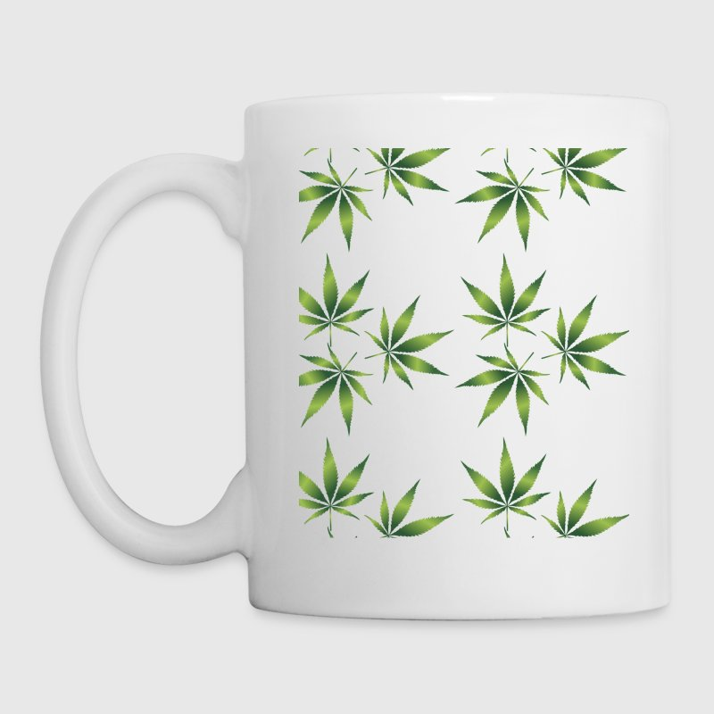 pot leaf coffee cup - Coffee/Tea Mug
