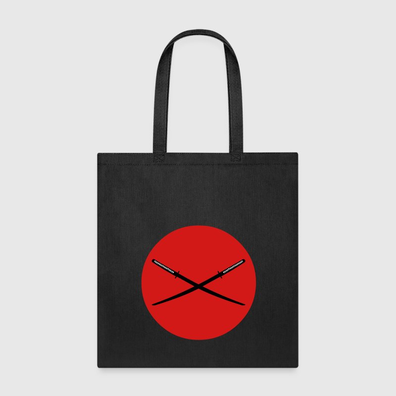 Crossed Japanese Katana Bags & backpacks - Tote Bag