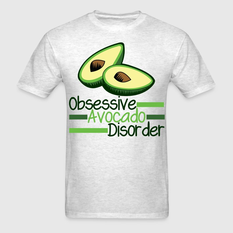 Funny Avocado - Men's T-Shirt