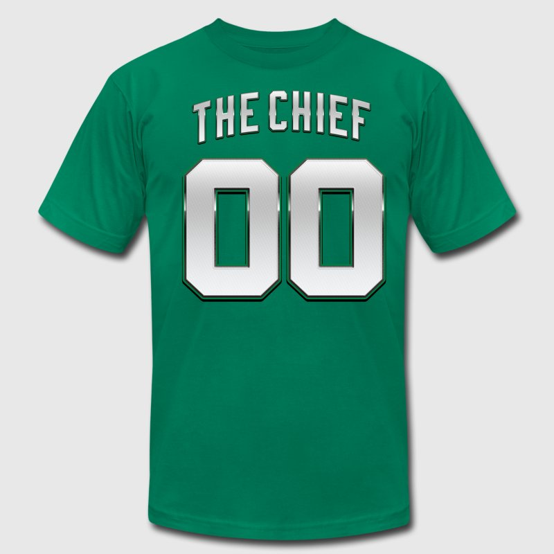 The Chief 00 Basketball Robert Parish T-Shirts - Men's T-Shirt by American Apparel